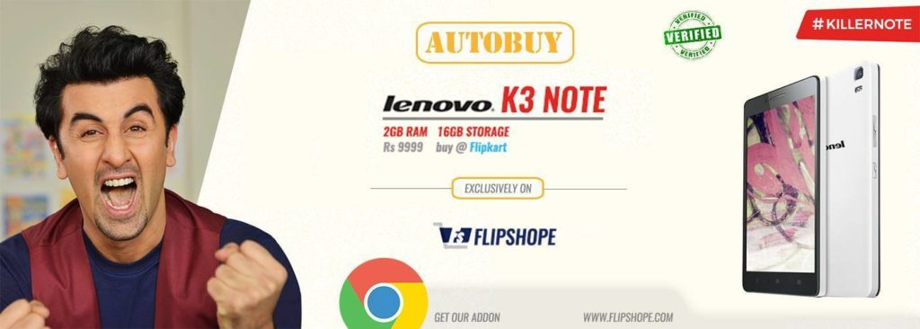 Lenovo K3 Note auto buy