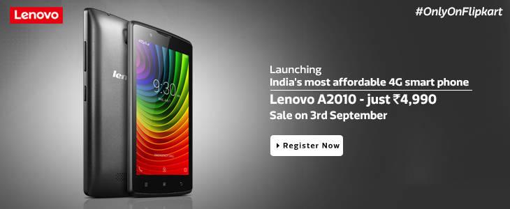 Lenovo A2010 Flipkart
