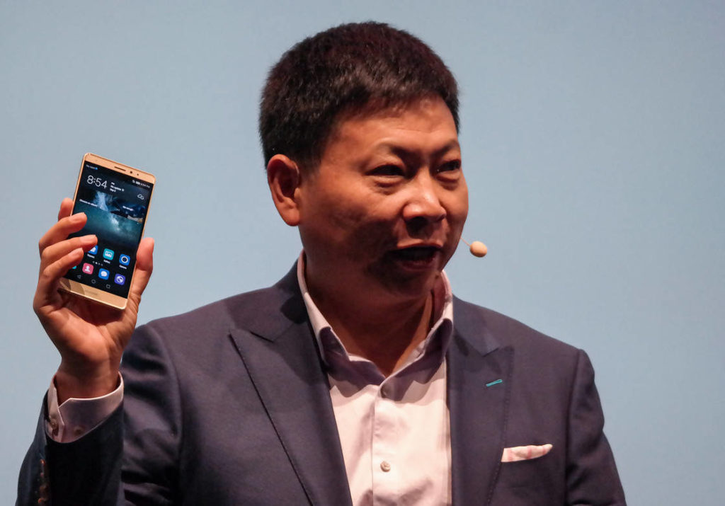 Huawei mate s richard yu