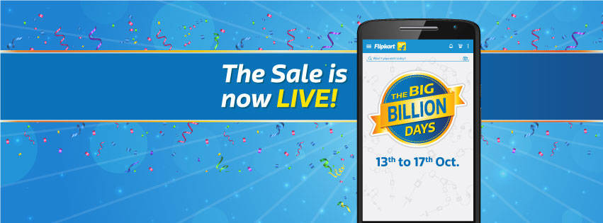 Flipkart Big Billion Day 1 Sale
