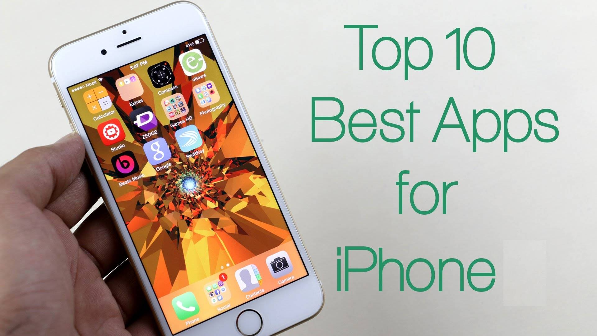 top ten apps iphone