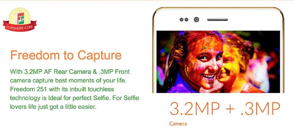Freedom 251 Camera Details
