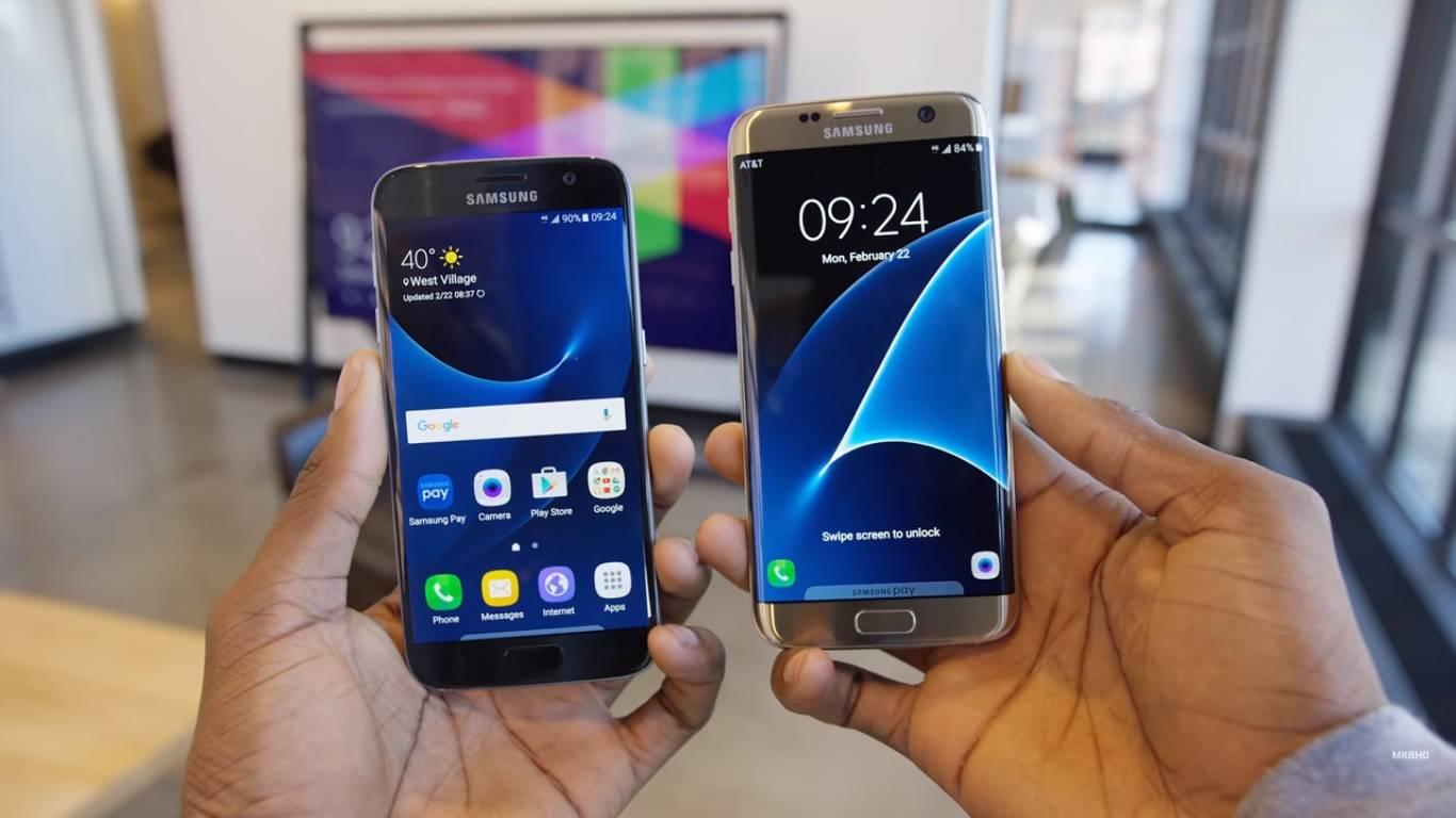 Samsungs Galaxy S7 Amp Galaxy Edge S7