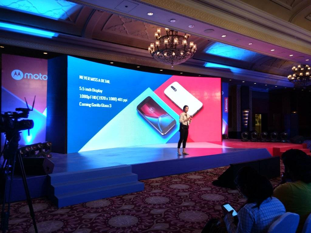 launches Moto G4 and G4 Plus