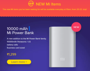 Mi Latest products