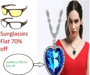 amazon freedom sale sunglass and jewelry offer