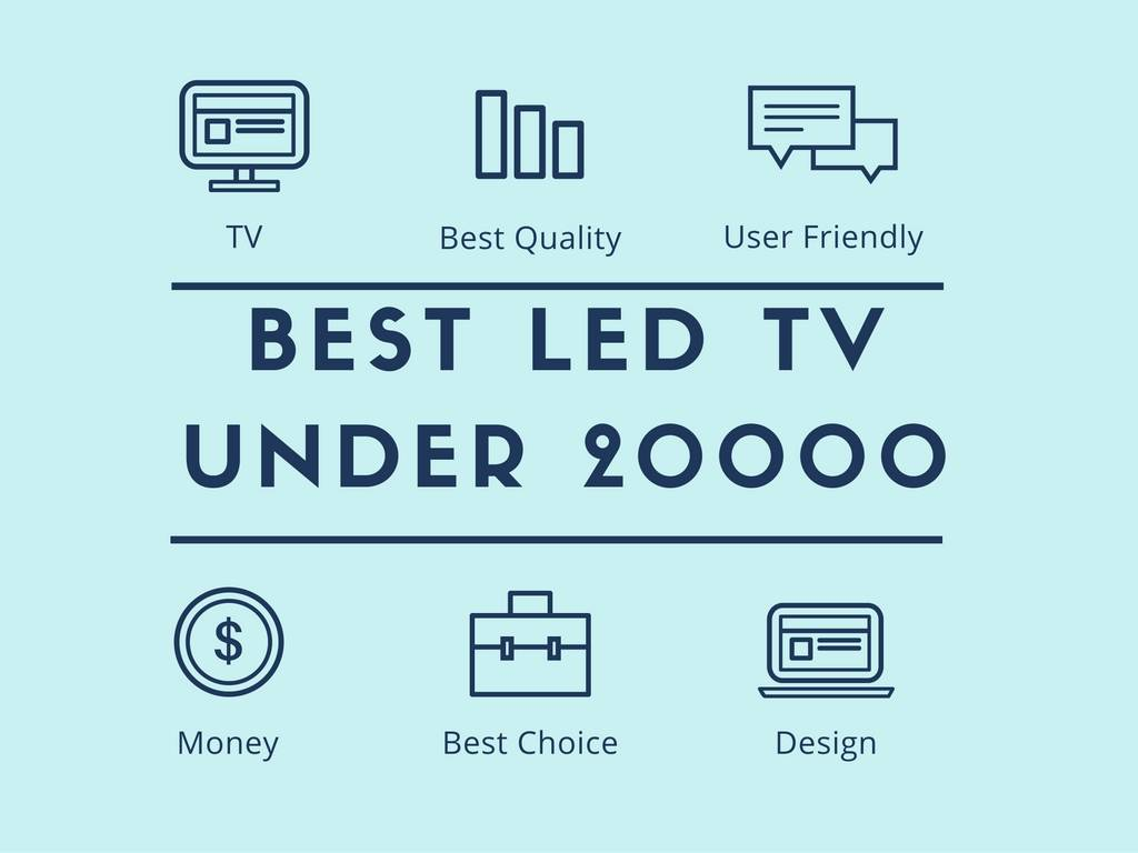 BEST LED TV UNDER 20000 in india