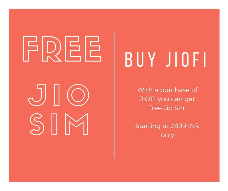 Reliance JioFi Hotspot