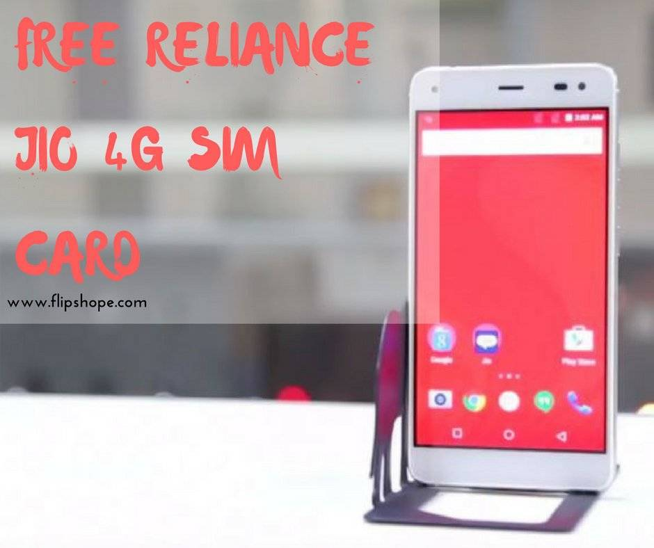 Free Reliance Jio 4G Sim Card Buy