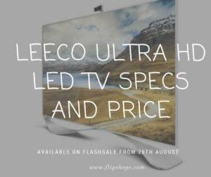 Leeco Ultra Hd Led tv