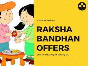 Raksha Bandhan Rakhi Offers Online Shopping