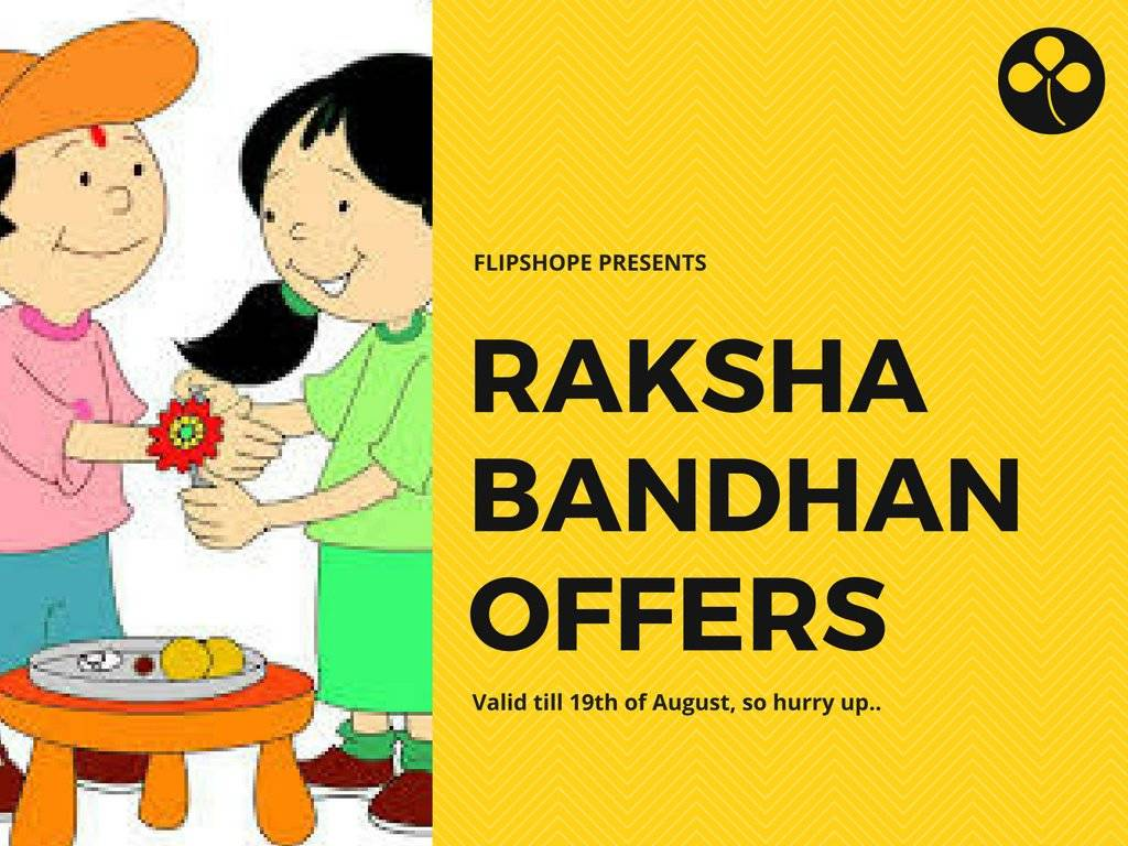 Raksha Bandhan Rakhi Offers Online Shopping
