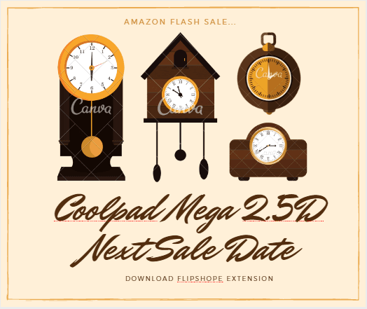 coolpad mega 2.5d next sale date
