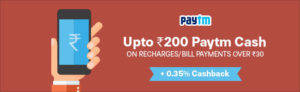 paytm Independence Day Offers