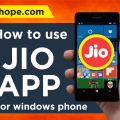 jio app for window phones