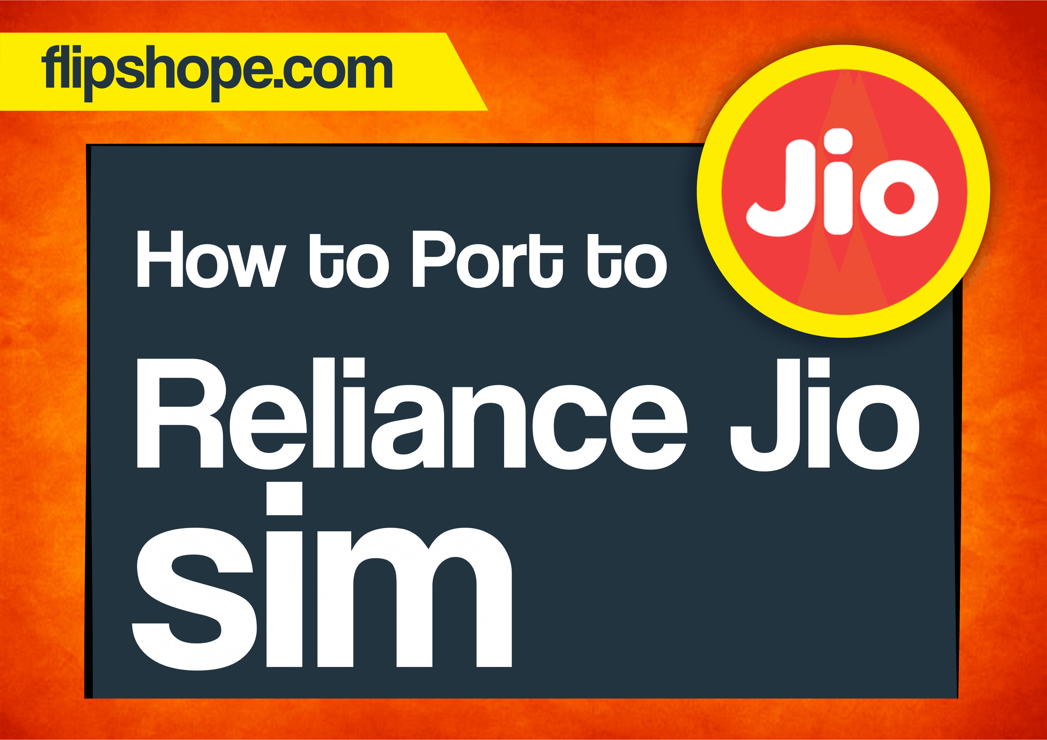 how to port to reliance jio