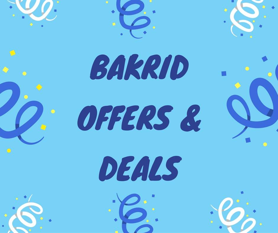 bakrid offers