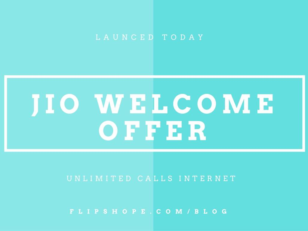 Jio Welcome Offer