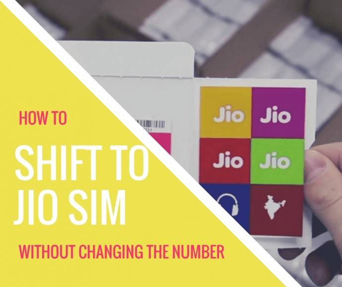 how to port to reliance Jio sim