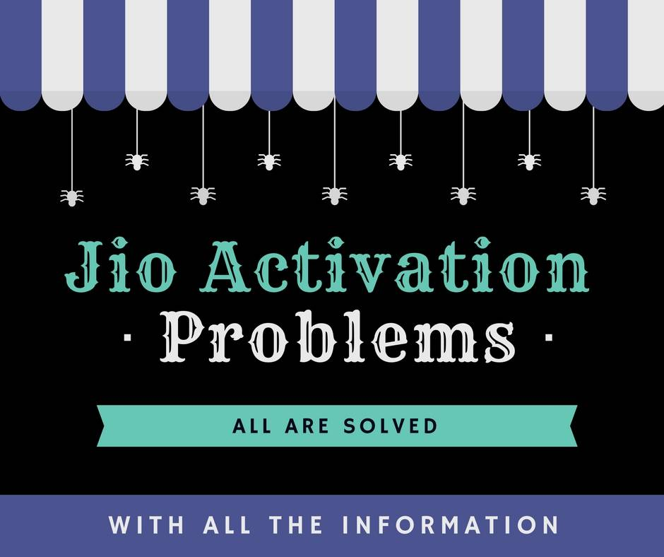 reliance jio sim activation