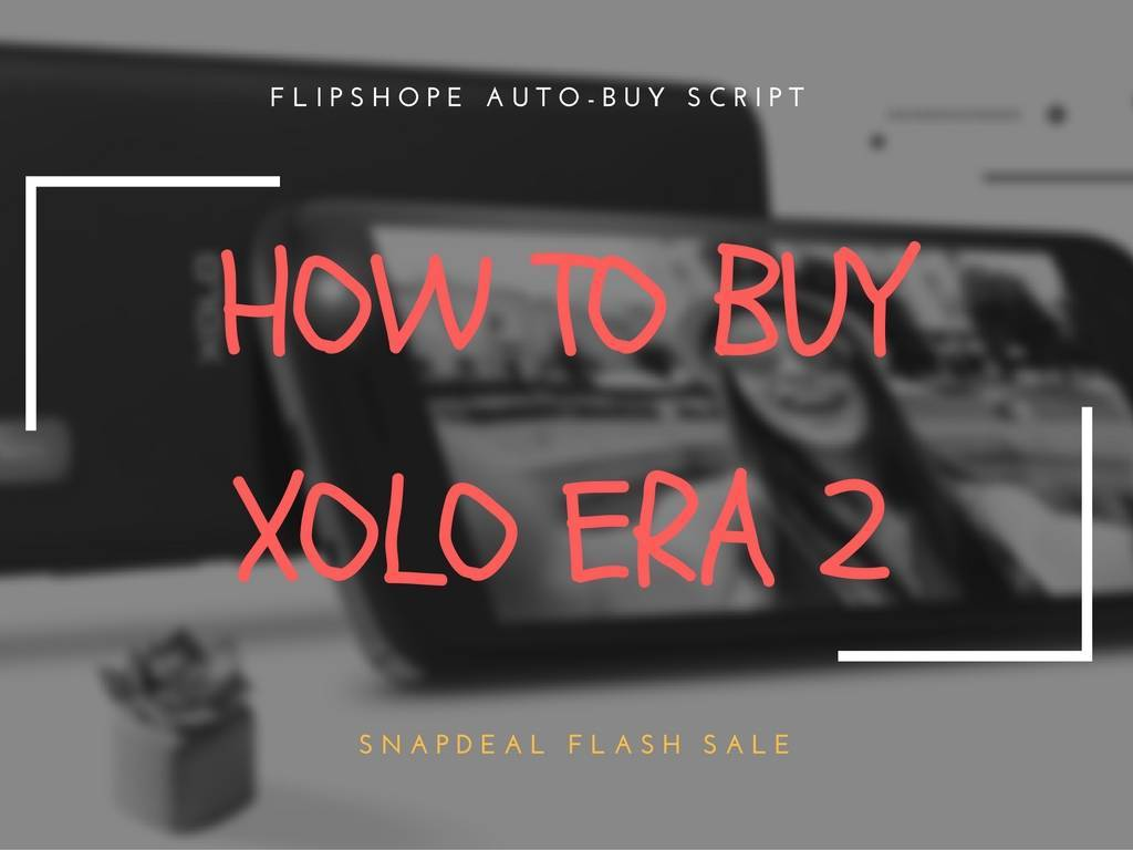 xolo era 2 flash sale