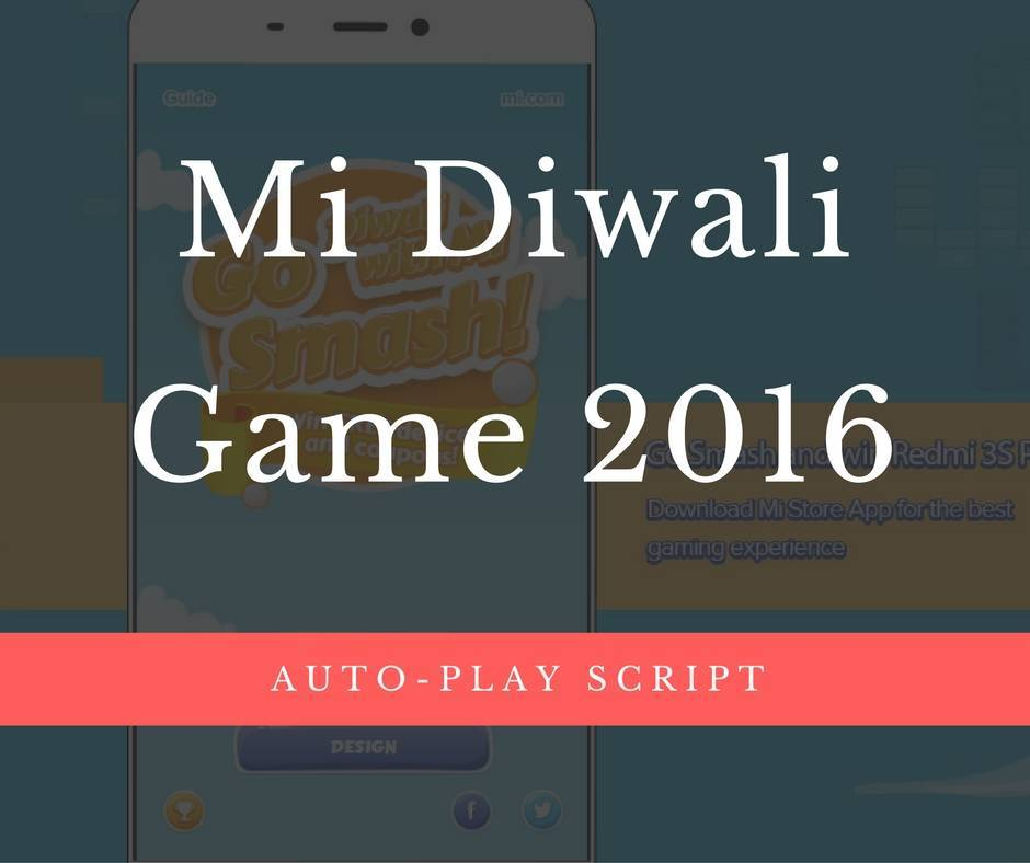 mi diwali game 2016 win redmi 3s prime