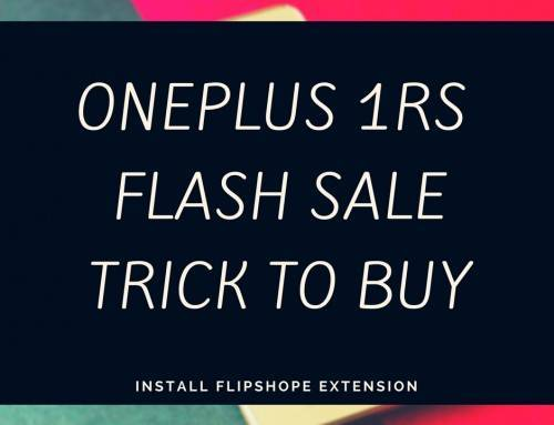 Oneplus 1rs Flash Sale, Here is the trick to get them