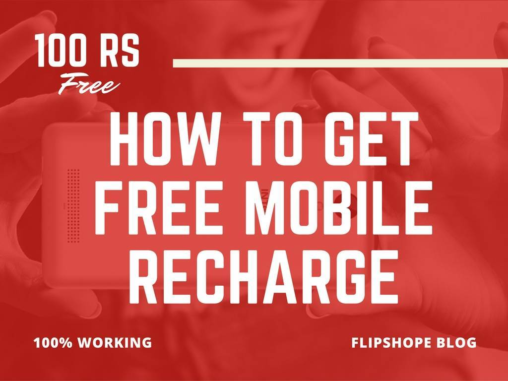 how to get Free mobile recharge talktime