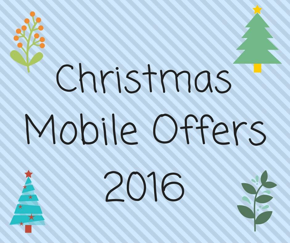 Christmas mobile offers 2016 online shopping