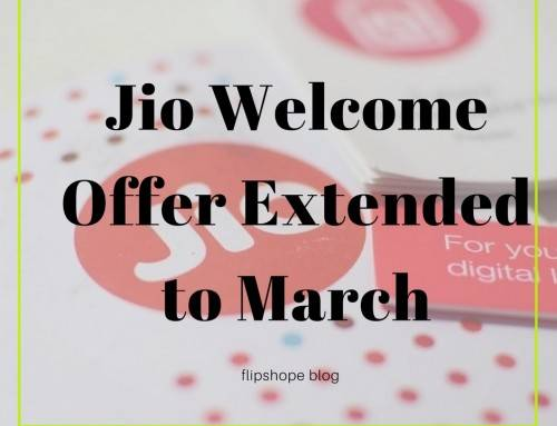 Reliance Jio Welcome Offer Extended till March 31st 2017