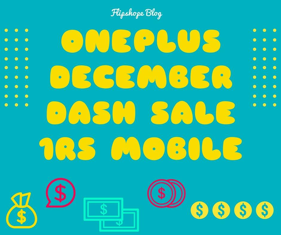 oneplus december dash flash sale