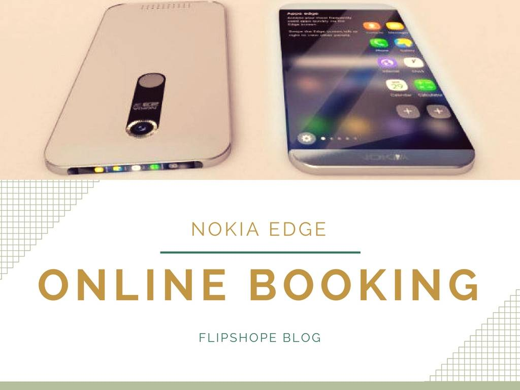 Nokia Edge Online Booking Registration Sale in India Time Date Site