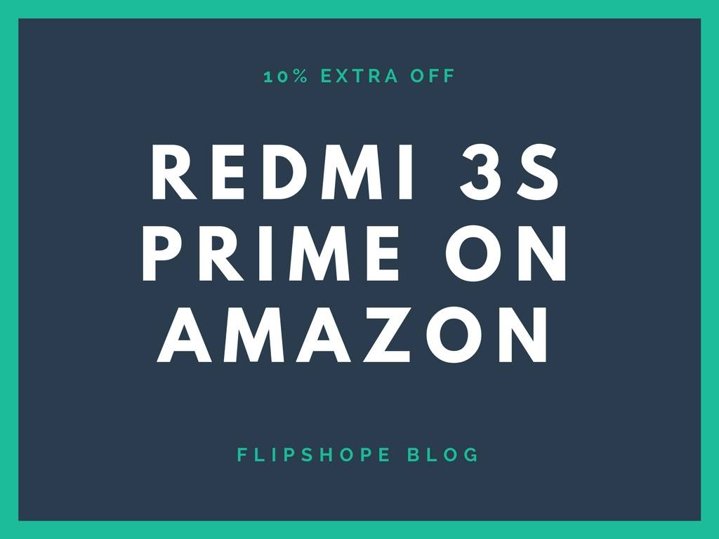 redmi 3s prime amazon sale offer buy