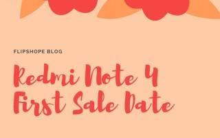 flipkart redmi note 4 next sale date first sale date