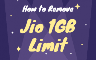 how to remove jio 1gb limit trick solution bypass