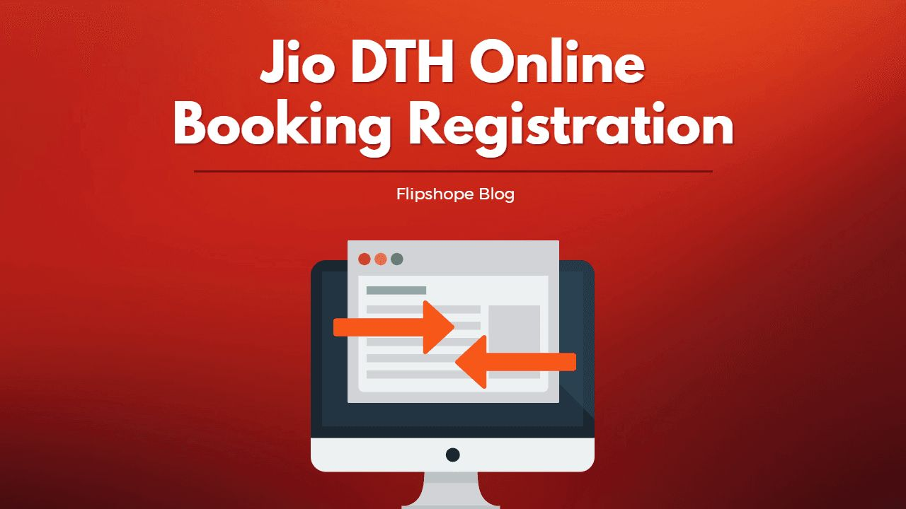 Jio DTH Online booking registration in india