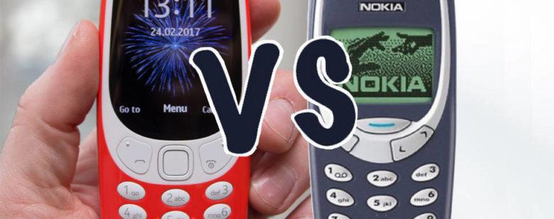 New Nokia 3310 vs old nokia 3310