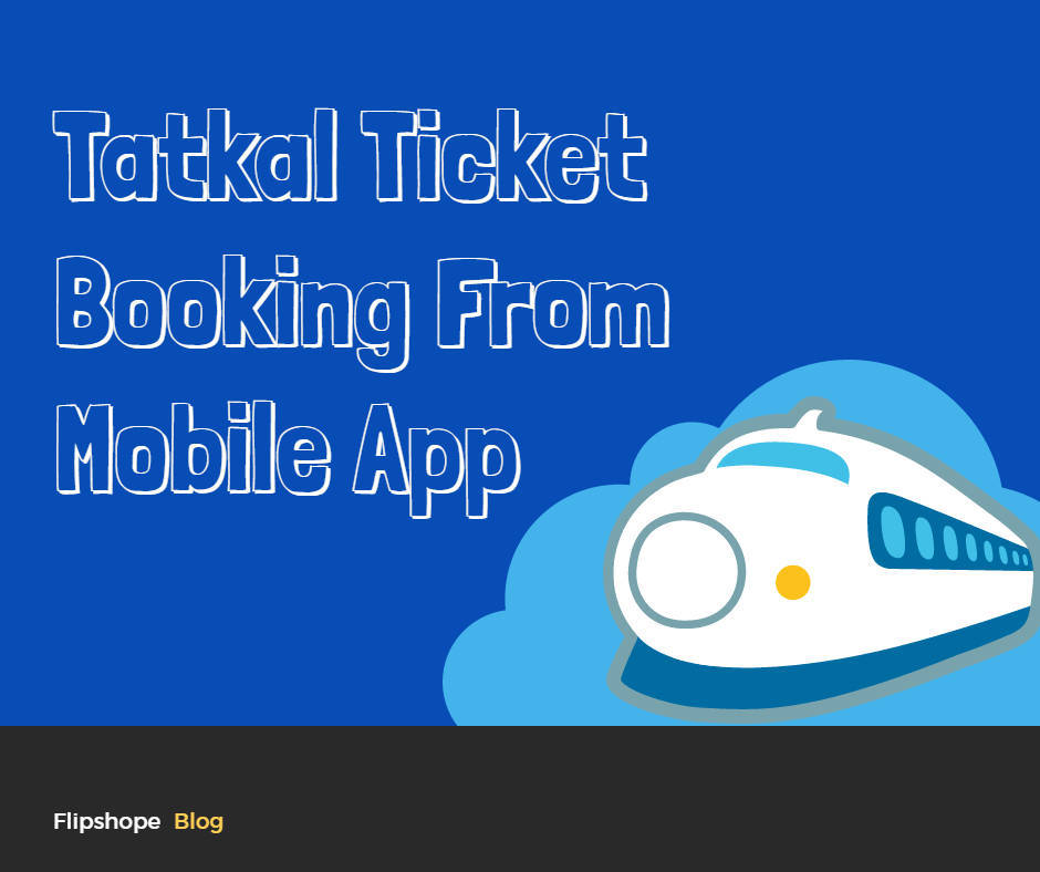 How To Book Tatkal Ticket from Mobile App Chrome Extension