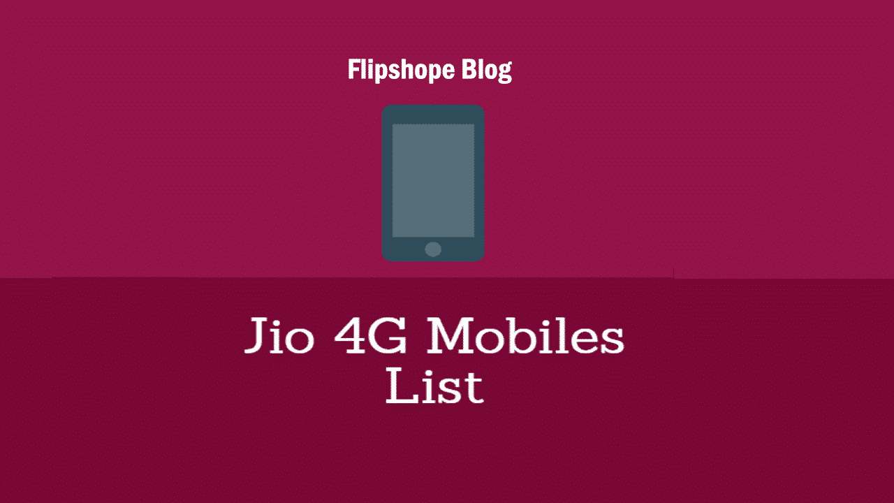 Reliance jio 4g mobiles price list