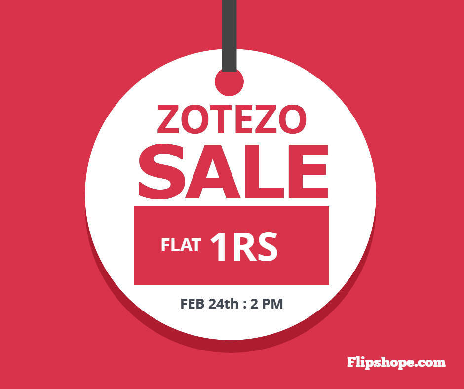 trick to buy zotezo 1rs flash sale