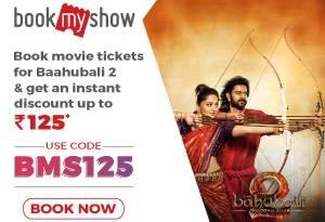 Bahubali 2 bookmyshow