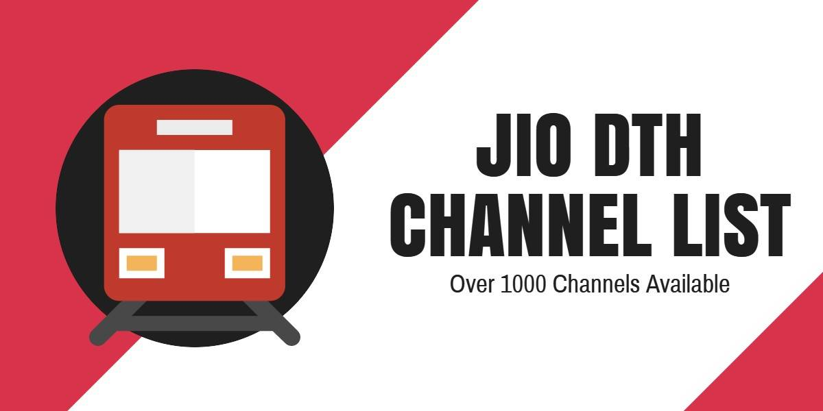 Jio DTH Channel List More than 1000 channels from Movies