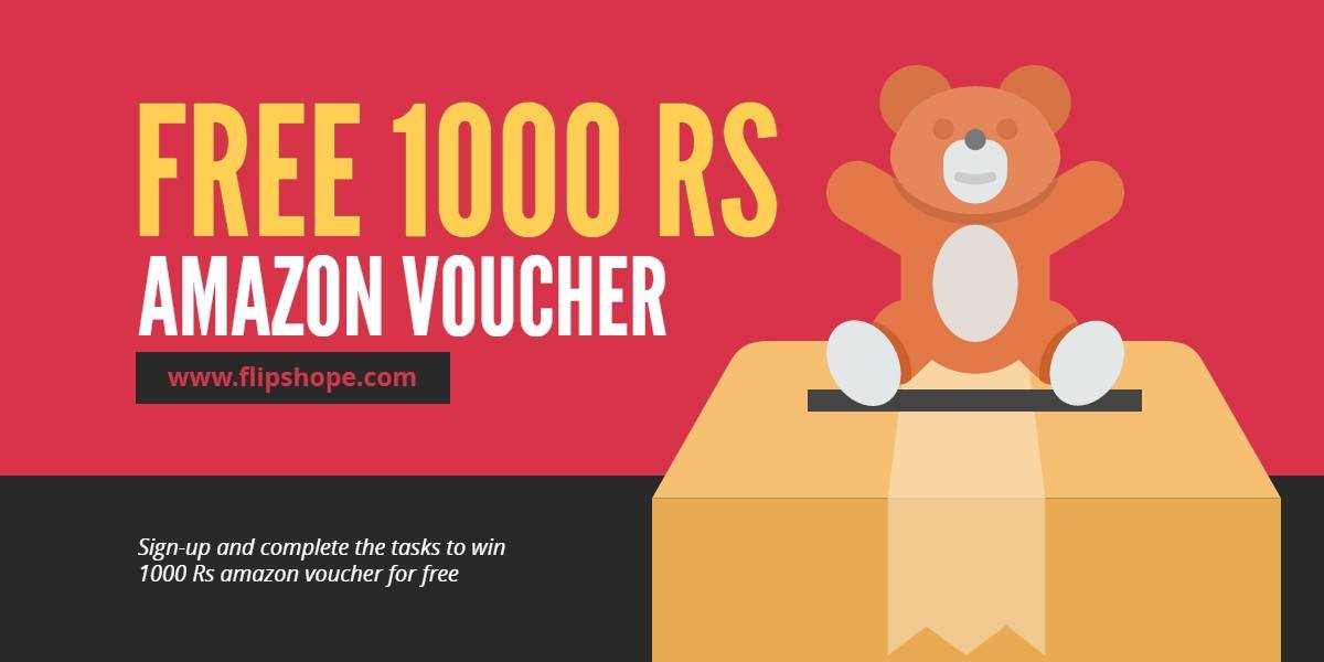 how to win 1000 Rs Amazon Gift Voucher