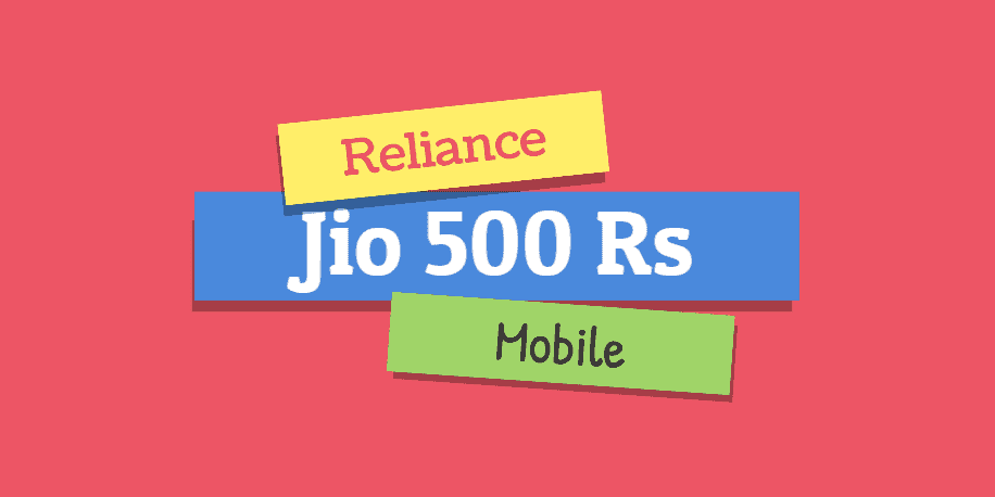 d04adf8e9 Reliance Jio 500 Rs Smartphone 4G VoLTE Specifications   Release Date