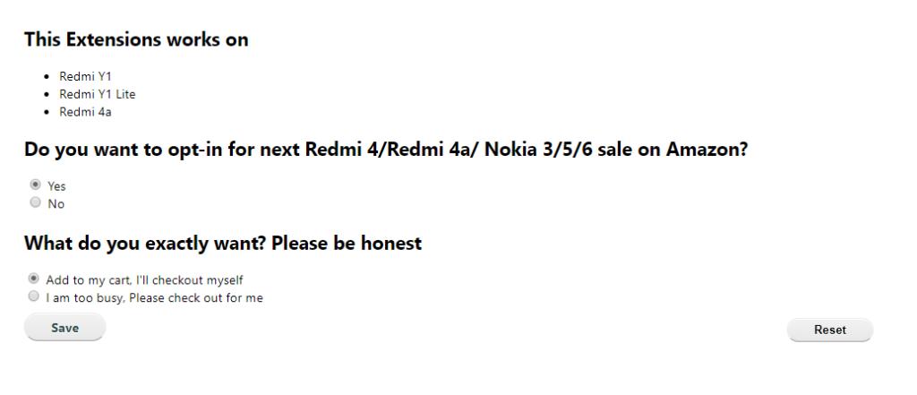 buy redmi y1 flash sale