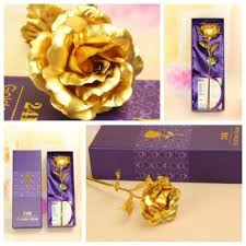 24K Golden Rose Cheapest Valentine's Day Gift