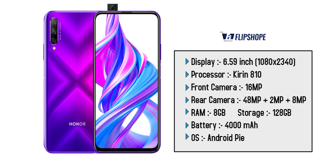 Honor 9X Pro Specifications, launch date and Price in India