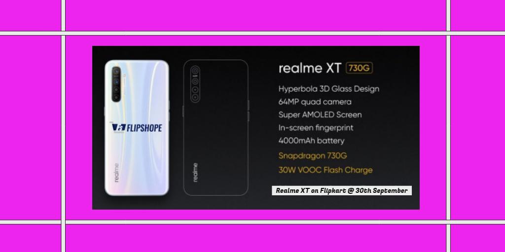 Realme XT Flash Sale Date