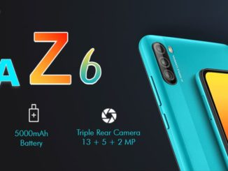 Lava Z6 Specifications