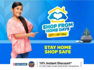 Flipkart Shope From Home Days Sale May 2021